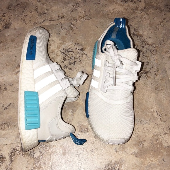 afe970c7df2 adidas Shoes - Adidas NMD R1 Nomad Blue Glow White Women s 9.5
